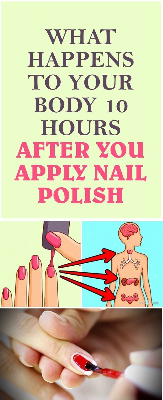 This Is What Happens To Your Body 10 Hours After Putting On Nail