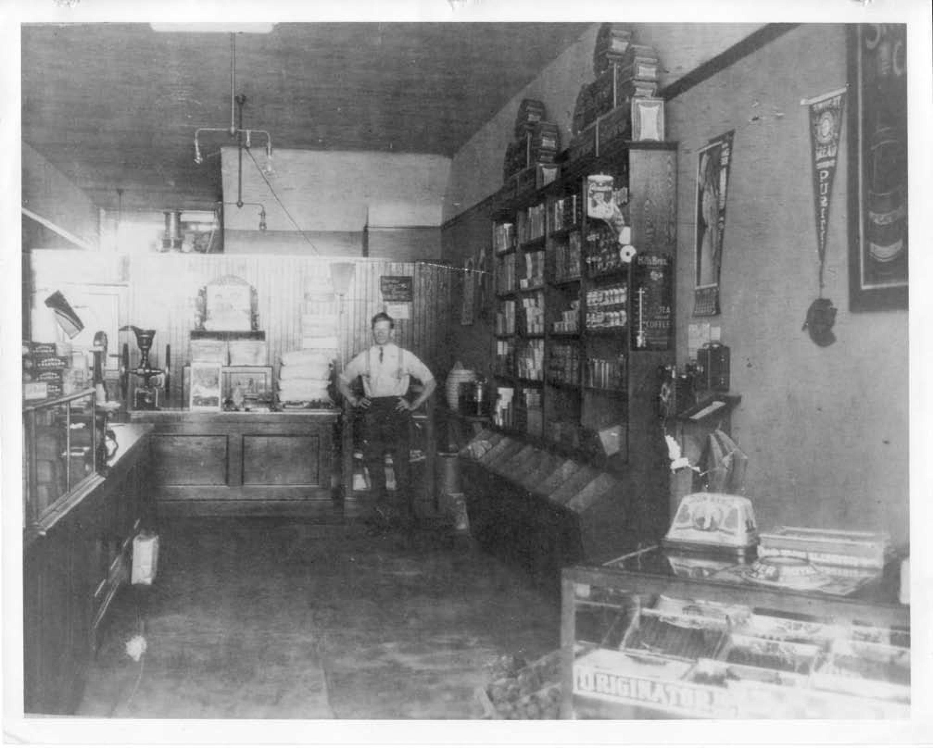 Inside A General Store On Main Street In Huntington Beach Circa