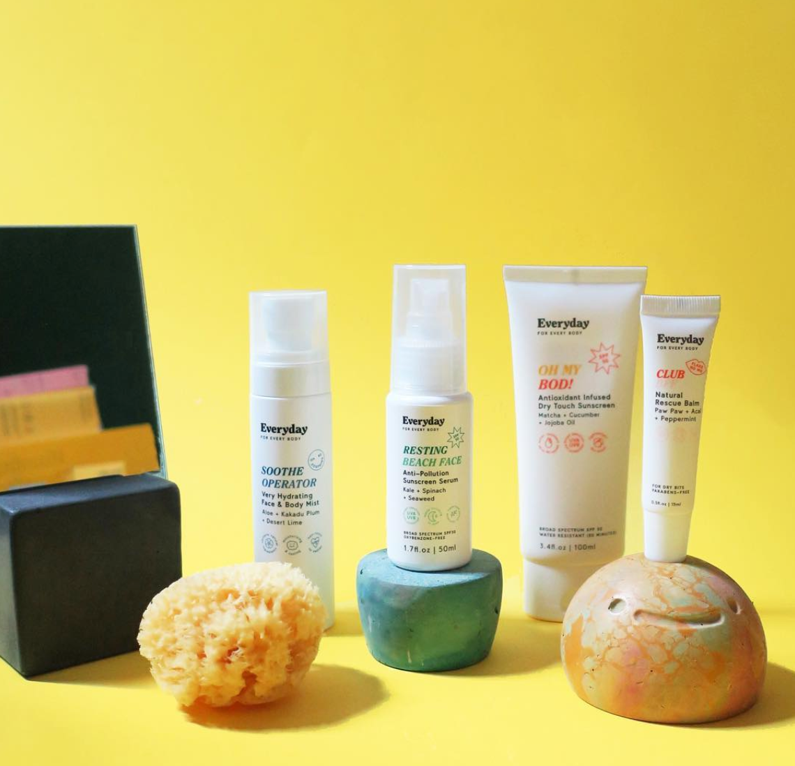 Introducing Everyday For Every Body Now Available At Crc Discover The Unsung Heroes Of Your Suncare Routine Proudly Researched Body Care The Body Shop Body