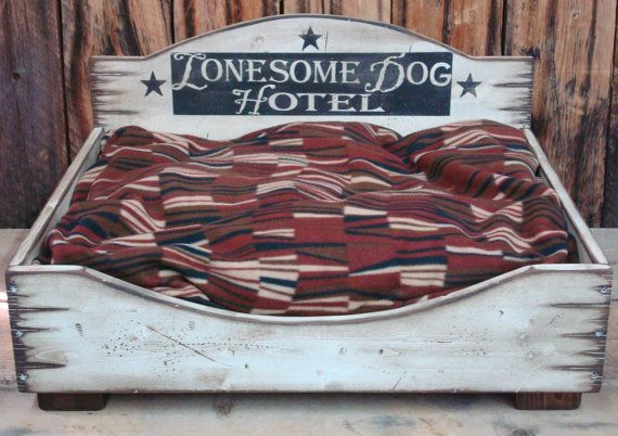 Pin By Grace Laird On Diy Custom Dog Beds Rustic Dog