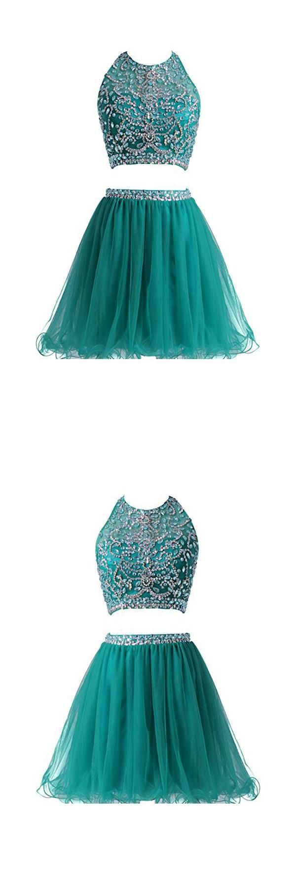 Short homecoming dresses two pieces homecoming dresses
