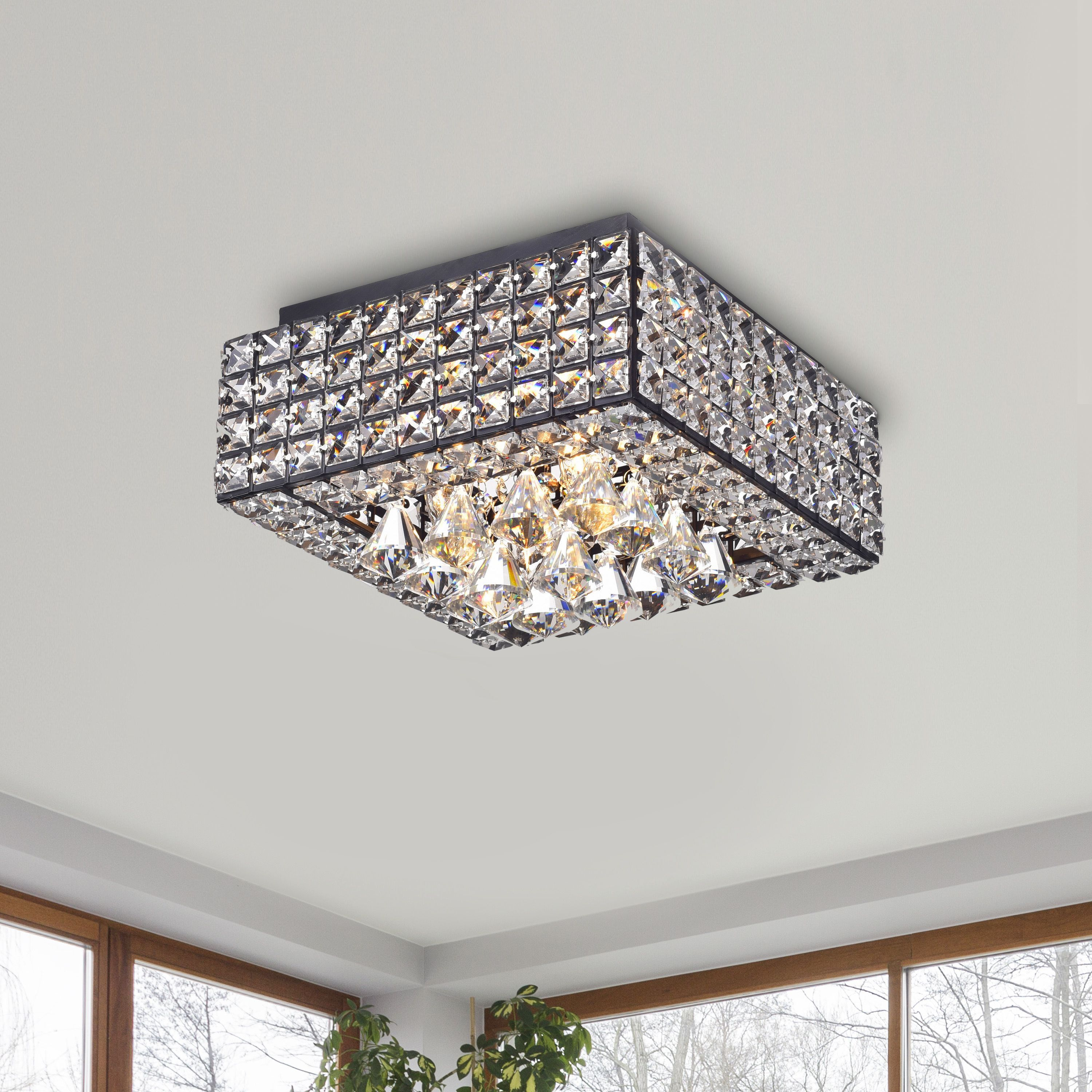 lighting ceiling frost plc satin glass p lights square flush finish with nickel flushmount cli light mount