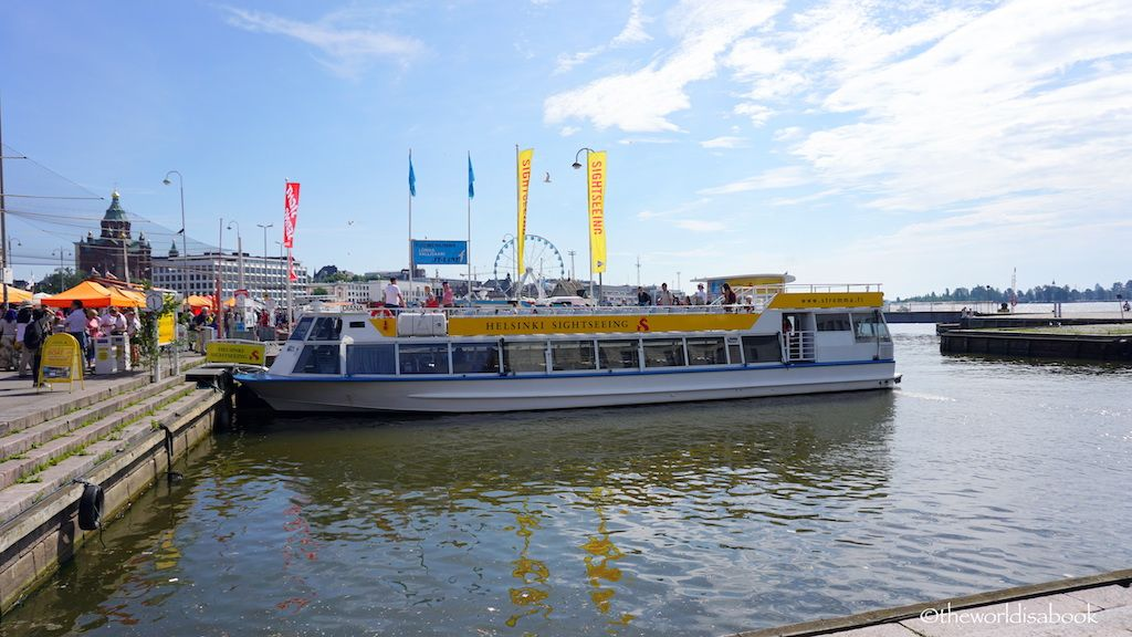 Canal Sightseeing Cruise in Helsinki - The World Is A Book