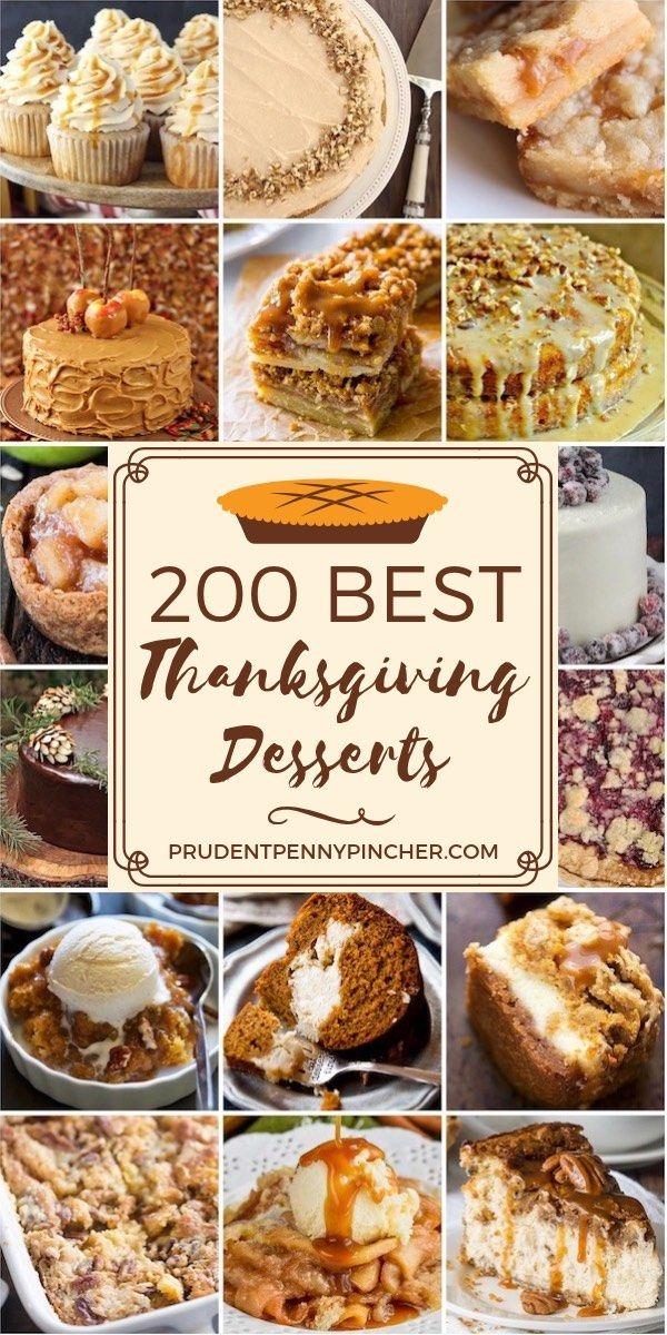 200 Best Thanksgiving Desserts images