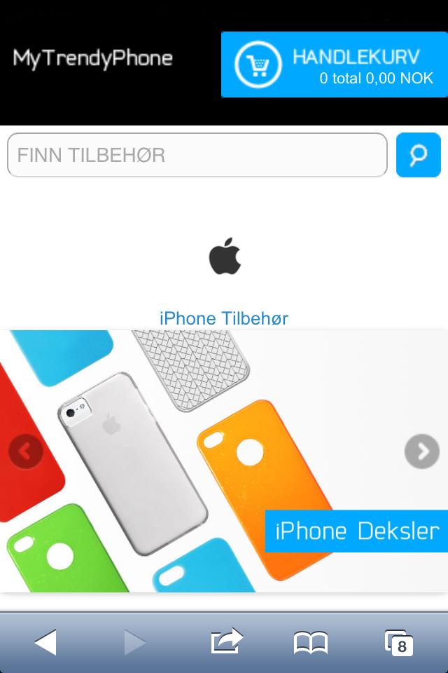 MyTrendyPhone.no nå på din mobil og tablet