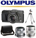 Olympus E-P5 PEN Digicam with 17mm f/1.eight Lens + VF-four Viewfinder (Black) + Olympus 45mm f1.eight + Olympus 75mm f1.8 + Vanguard Tripod + Olympus Scenario +32GB Kit - http://buyingmanual.com/olympus-e-p5-pen-digicam-with-17mm-f1-eight-lens-vf-four-viewfinder-black-olympus-45mm-f1-eight-olympus-75mm-f1-8-vanguard-tripod-olympus-scenario-32gb-kit.html