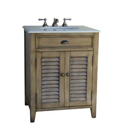 """26"""" Cottage look Abbeville Bathroom Sink vanity Model CF28323LG by Chans Furniture, http://www.amazon.com/dp/B000CNP27Q/ref=cm_sw_r_pi_dp_8s-6rb0WDNEXY"""