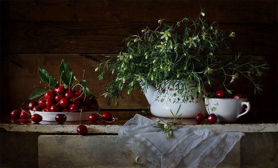 cherry ~ by Viktoria Imanova on 500px