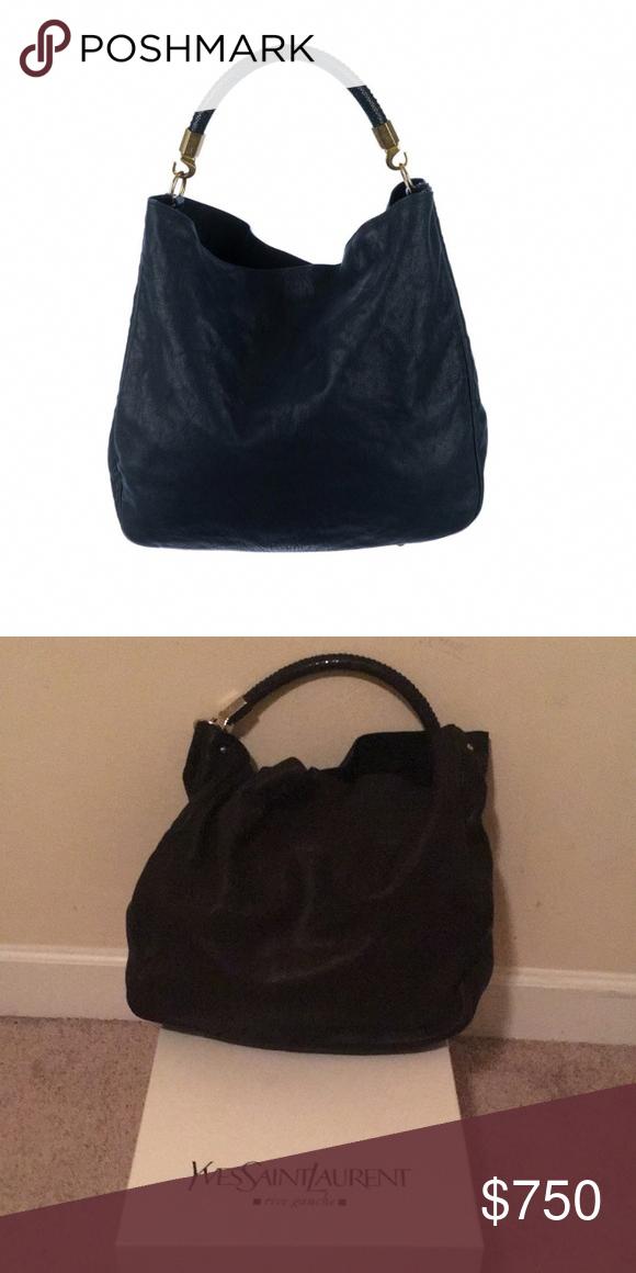92c4beaf1f6 Spotted while shopping on Poshmark  YVES SAINT LAURENT Roady bag with  stingray handle!  poshmark  fashion  shopping  style  Yves Saint Laurent   Handbags   ...