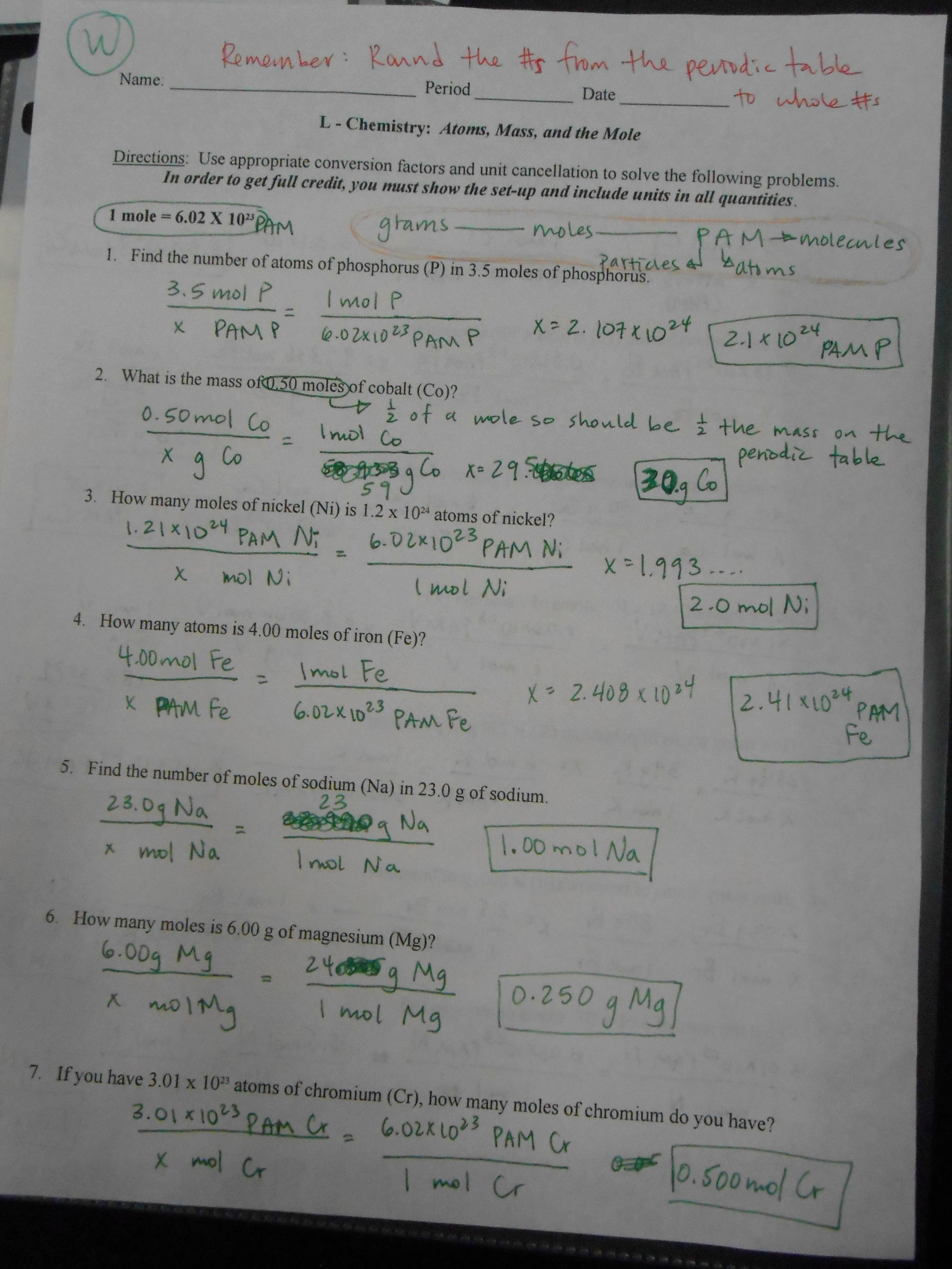 Nuclear Chemistry Worksheet Answer Key Unique Nuclear