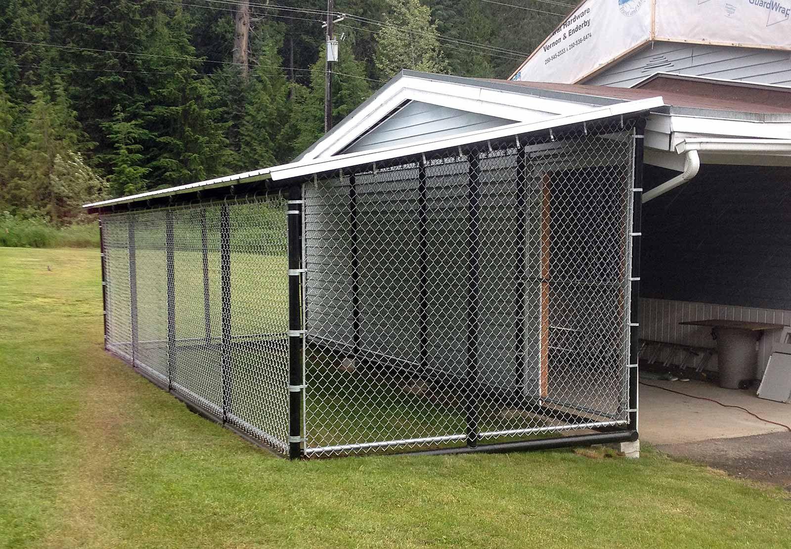 Dog Kennels Big Dog Kennels Chain Link Dog Kennel Diy Dog Kennel Outdoor dog kennel roof ideas