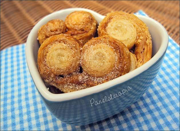 Palmier ~ PANELATERAPIA - Blog de Culinária, Gastronomia e Receitas