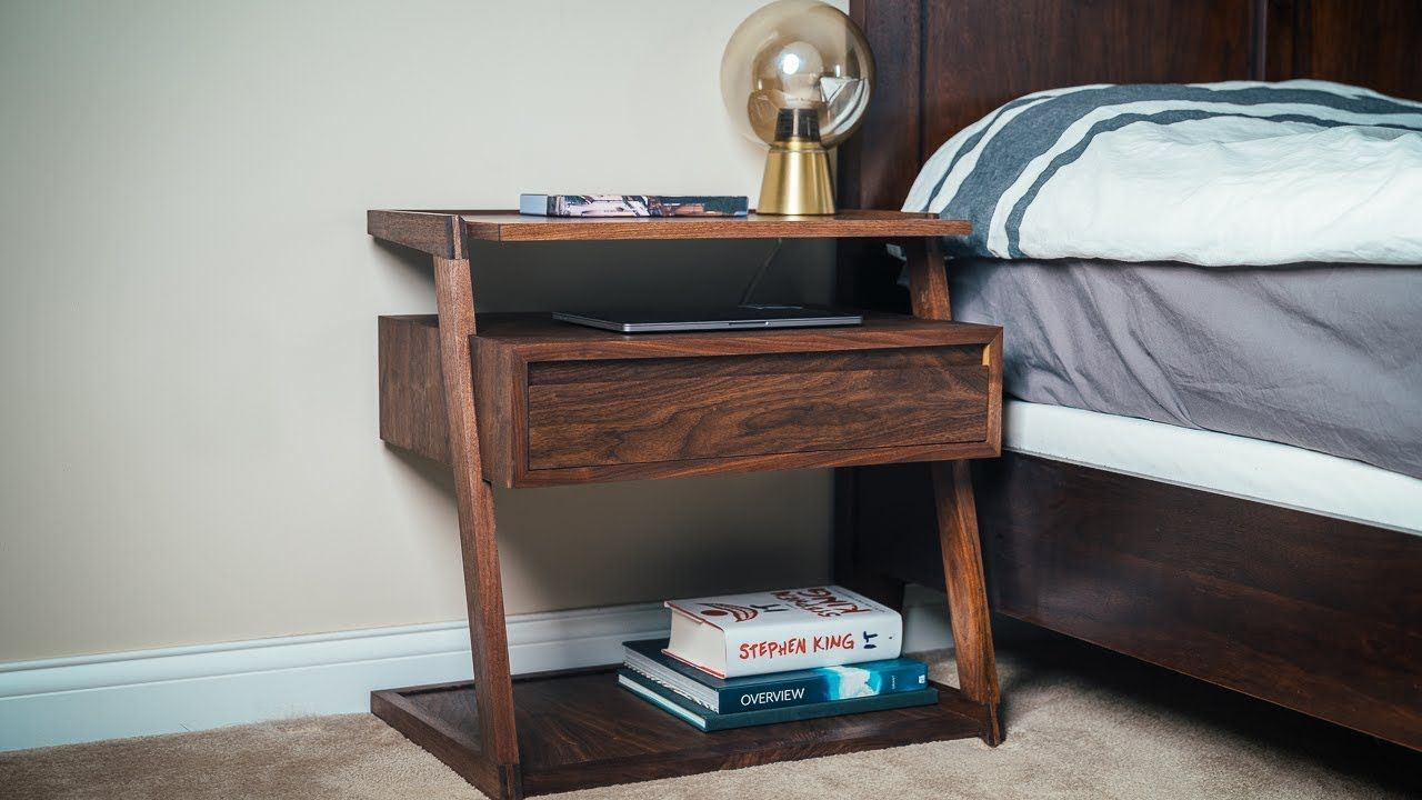 Best I Made This Modern Cantilevered Style Nightstand Bedside 400 x 300