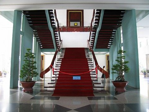Grand Staircase, Reunification Palace. Could Be A Spot For The Indoor  Scenes   I