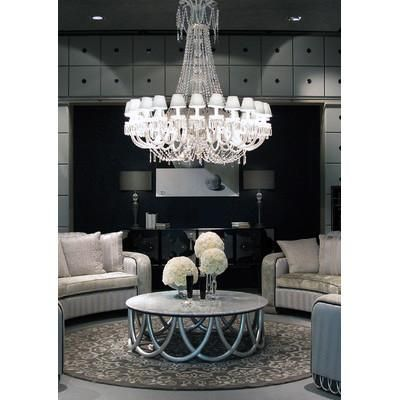 Cool! :)) Pin This & Follow Us! zBrands.com is your Light Fixture Gallery ;) CLICK IMAGE TWICE for Pricing and Info :) SEE A LARGER SELECTION chandeliers at http://www.zbrands.com/Chandeliers-C35.aspx - #homeimprovement #homedecor #lighting  #lights #lightandfixture #chandeliers -  Cristalstrass Chandeliers - Byblos 24 Light Crystal Chandelier