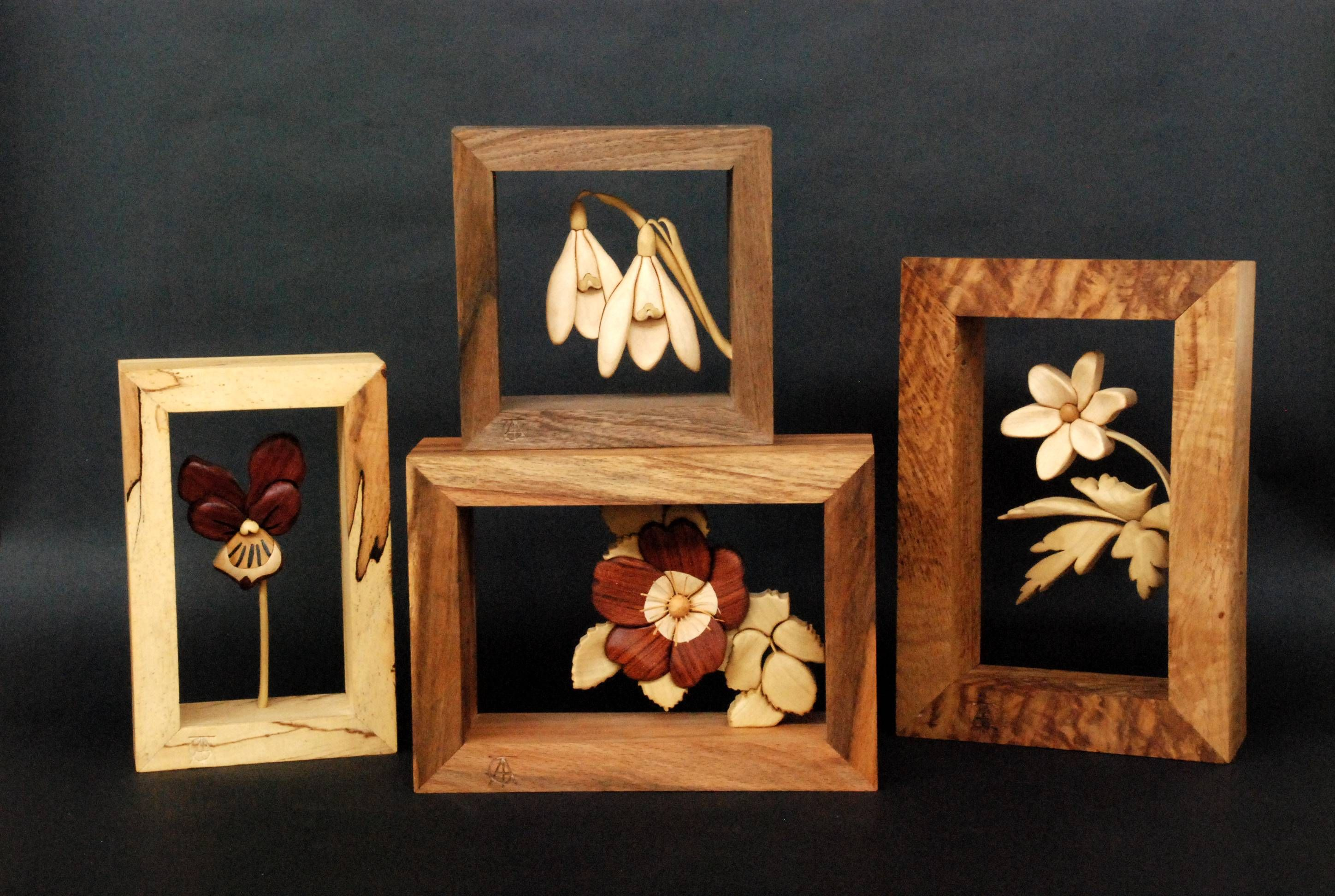 Amazing Intarsia Creations by T.A.G Smith