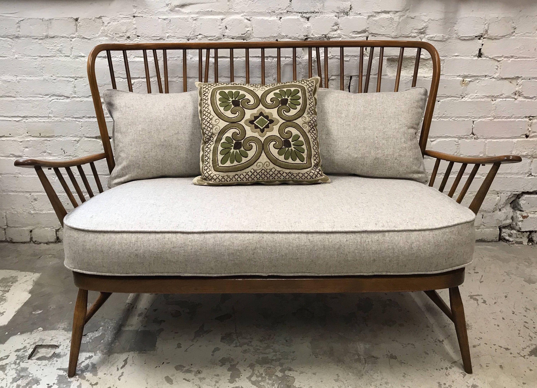 Soldrestored Ercol Evergreen 2 Seater Sofa Etsy Ercol Ercol Sofa Seater Sofa