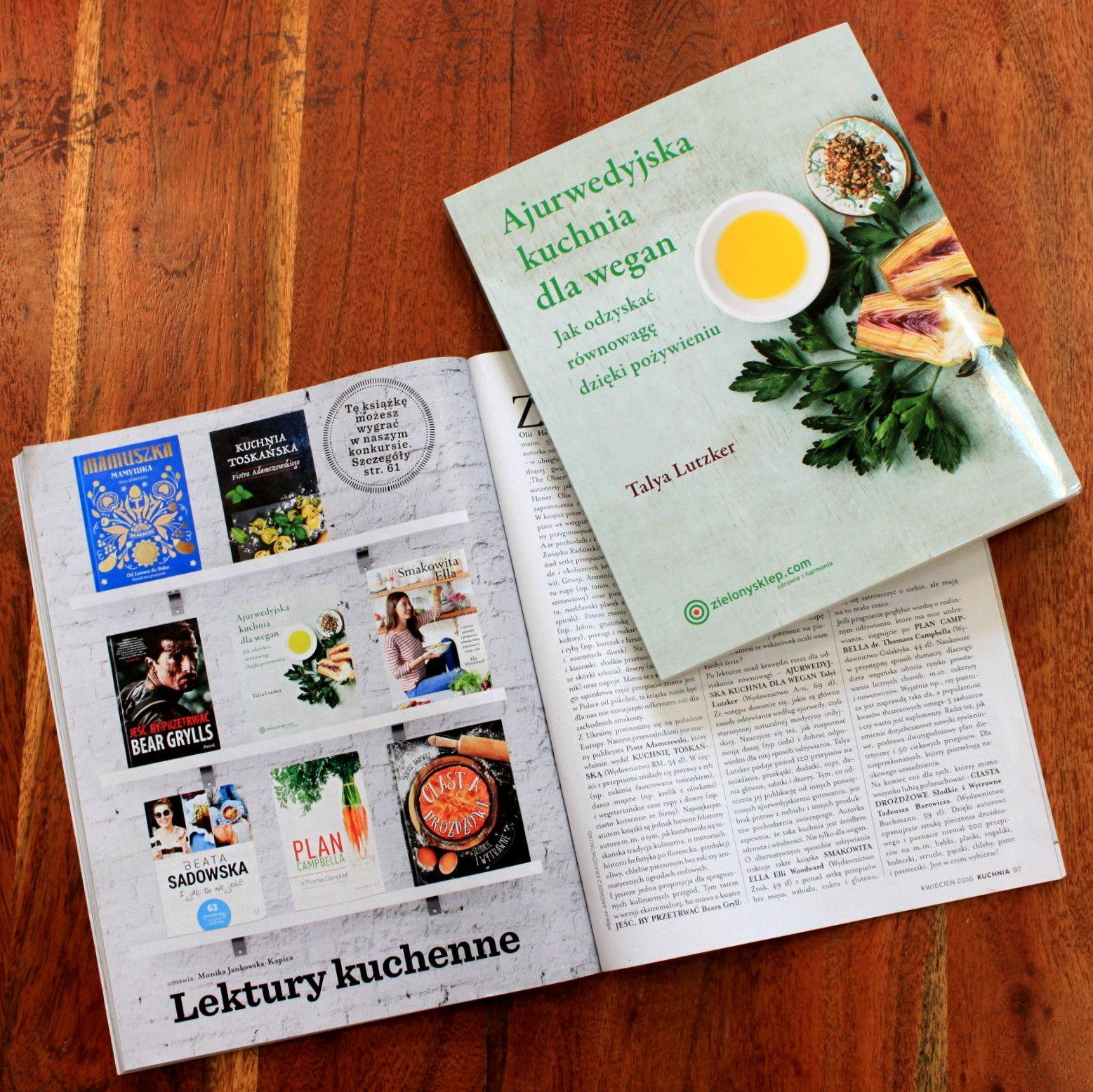 Magazyn Kuchnia Docenił Naszą Książkę Kucharską Dla Wegan