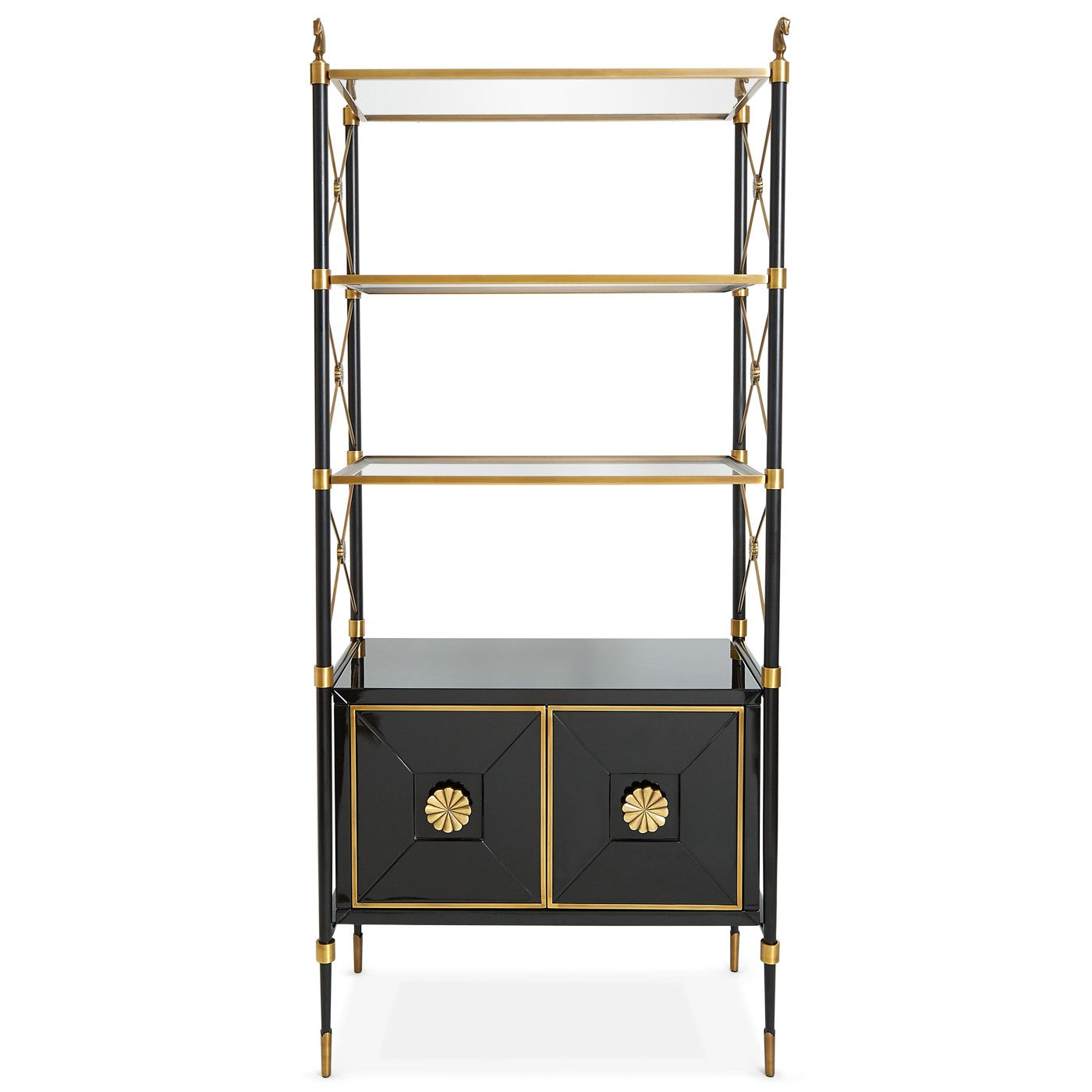 Equestrian Pieces From Jonathan Adler Equestrian Style Jonathan  # Etagere Television Plat