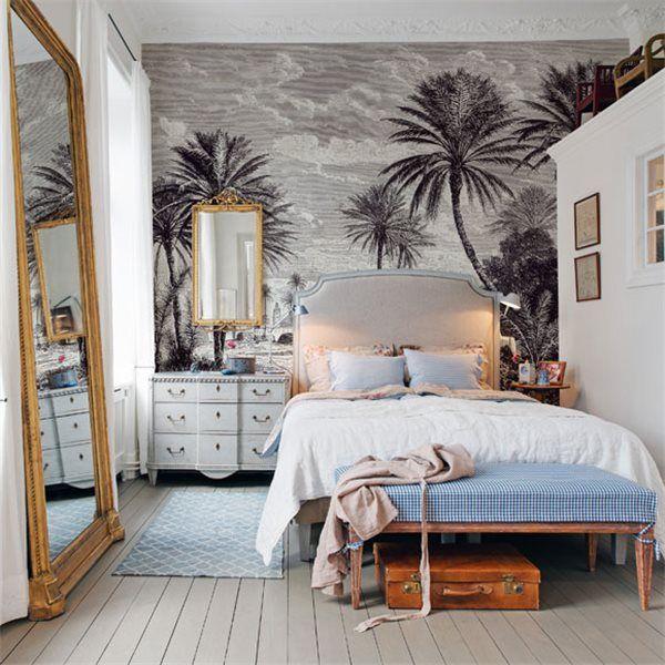 Décor mural - Au fil des Couleurs - Oasis | Interior Design en 2019 ...