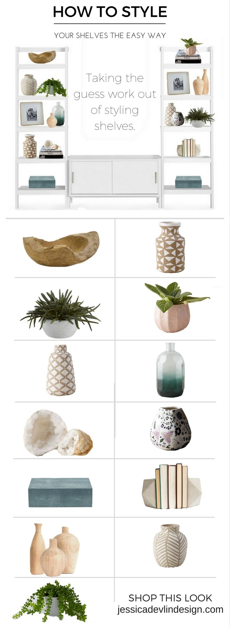 How to decorate your shelves. Expertly style your shelves. Home design, home decor, home…