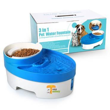 صحون Tena Cattery Candy Machine Cattery Dog Bowls