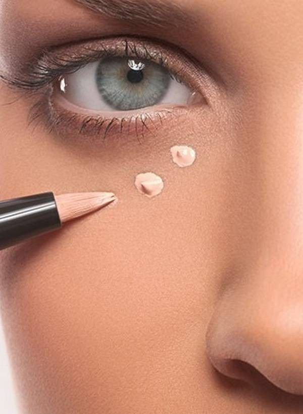 how to use concealer on face in hindi