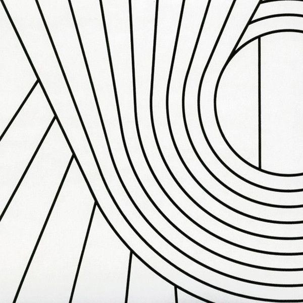 BRADLEY USA │Erica Wakerly Wallcovering │SPIRAL BLACK WHITE WALLCOVERING │ shop.bradley-usa.com for trade pricing #bradleyusa #ericawakerly #chicagointeriordesign #newyorkinteriordesign #atlantainteriordesign