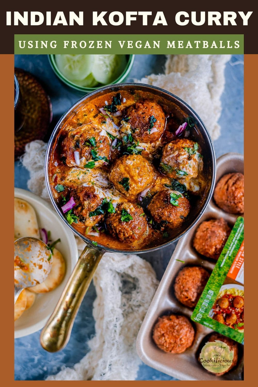 Spicy Kofta Curry with Plant-Based Meatballs Recip
