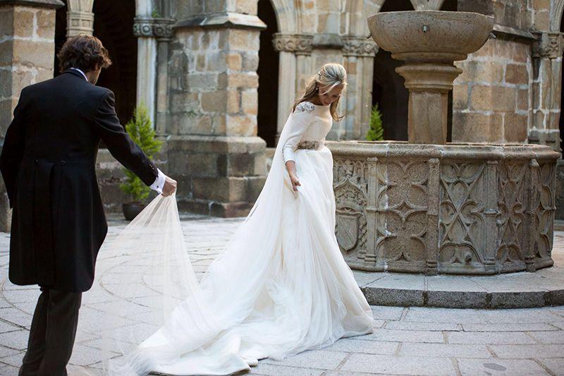 bride Inma Ladrón novia De vestidodenovia Planner Con Vestido Wedding Novia Co – Eduardo Nuestra Cristina weddingdress amp; Guevara BxSqT15Ywn