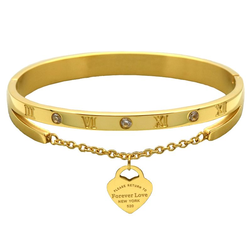 Damenschmuck marken  Luxus Berühmte Marke Schmuck Pulseira Edelstahl Armband & Überzog ...