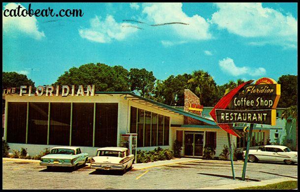 Vintage Postcard The Floridian St Augustine Florida Hotels Floridian Florida Postcard