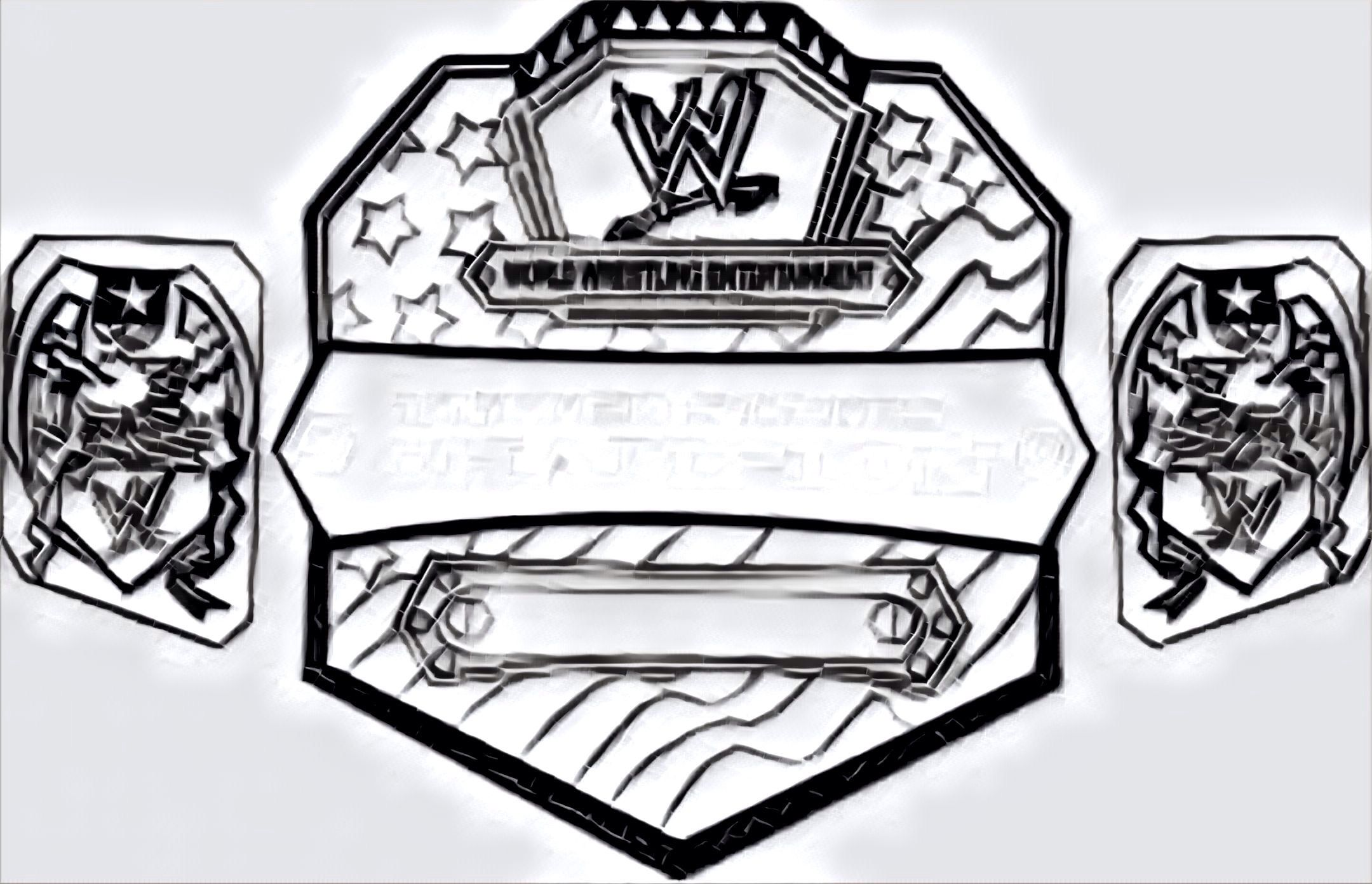 Pin By Corey Bella On Colouring Pages Wwe Belts Colouring Wwe