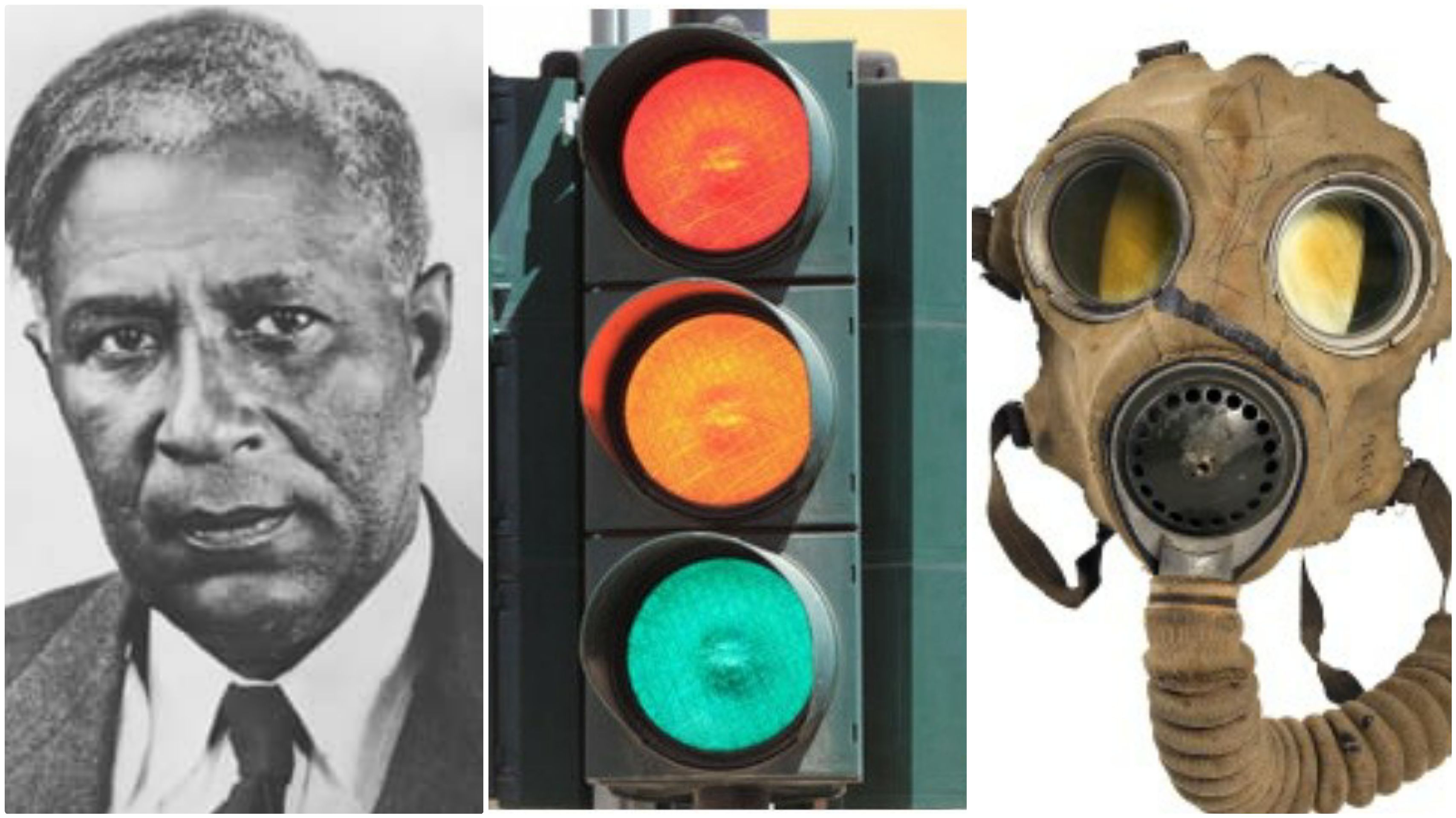 Meet The Black Man Who Invented the Traffic Light and The Gas Mask | African american inventors, Gas mask, Traffic light
