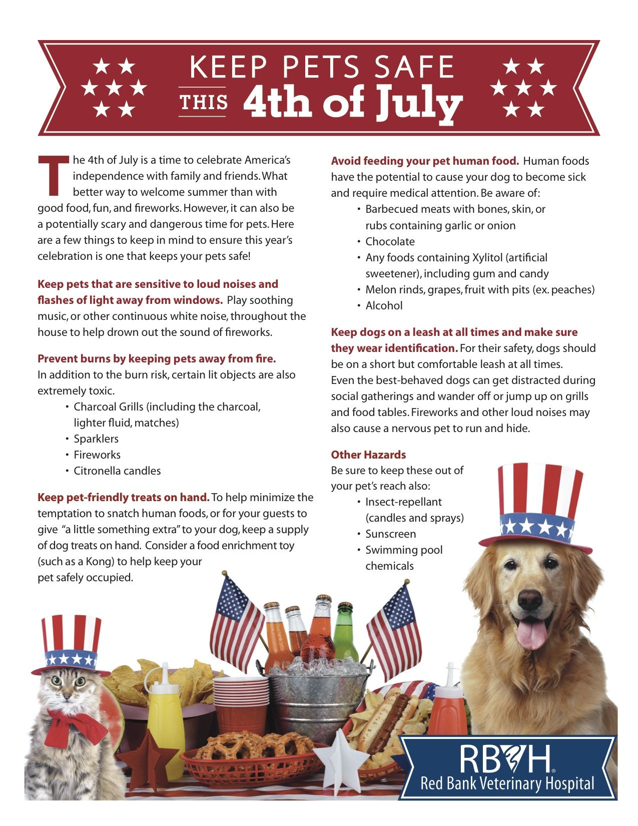 Check Out These Tips To Ensure Your 4th Of July Holiday Is Safe