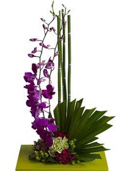 Centro Mesa Para 15 A 241 Os Arreglos Florales Tropical