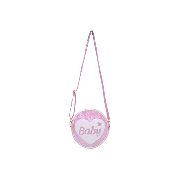 c2ebae2ea5a4 BABYビニール ポシェット ピンク SWIMMER ONLINE SHOP ❤ liked on Polyvore featuring bags