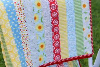Oh Clementine Jelly Roll Quilt-8