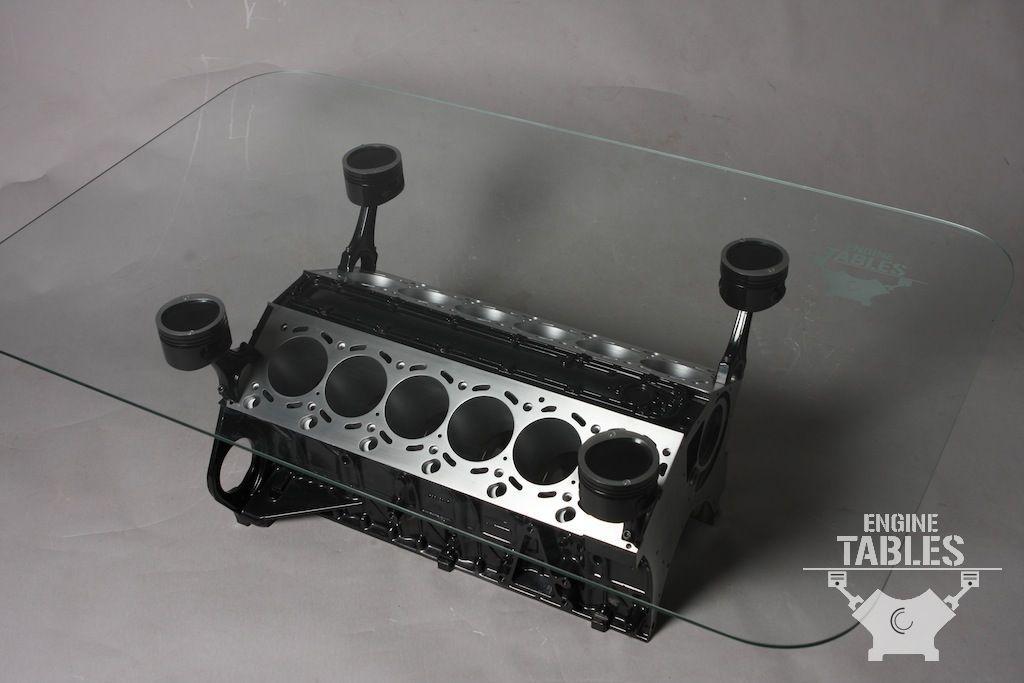 Engine Tables  BMW V12  CARFURNITURE  Muebles Mesas