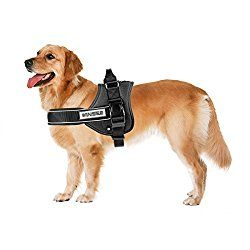 No Pull Dog Vest Harness Winsee Soft Reflective Harness With