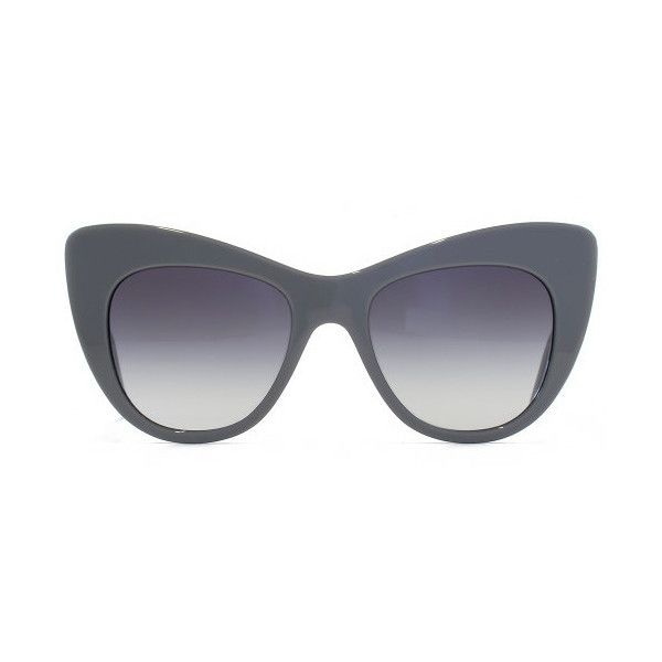 46091bc28f3 Stella McCartney Peaked Cat-Eye Sunglasses (€180) ❤ liked on Polyvore  featuring accessories