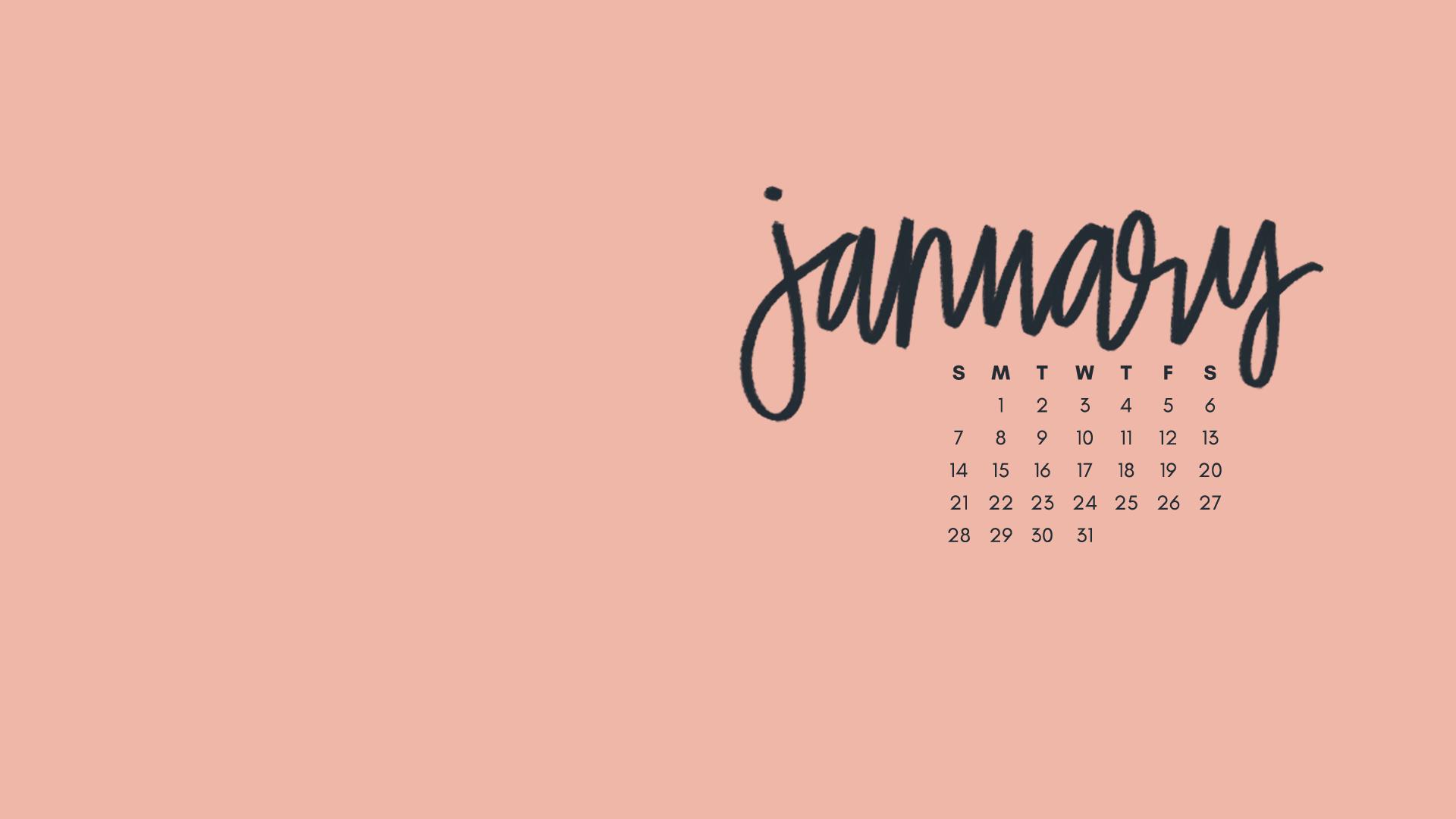 January 2018 Wallpapers Folder Icons Whatever Bright Things January Wallpaper Cute Desktop Wallpaper Calendar Wallpaper