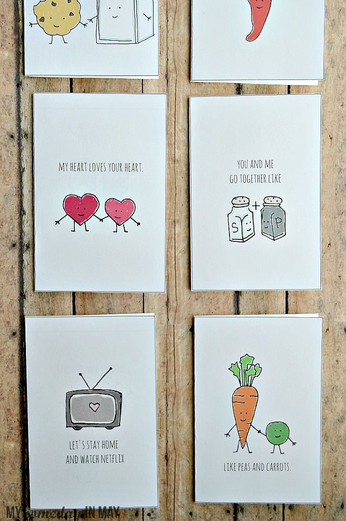 Quirky Love Cards   Cute thank you cards, Funny birthday ...