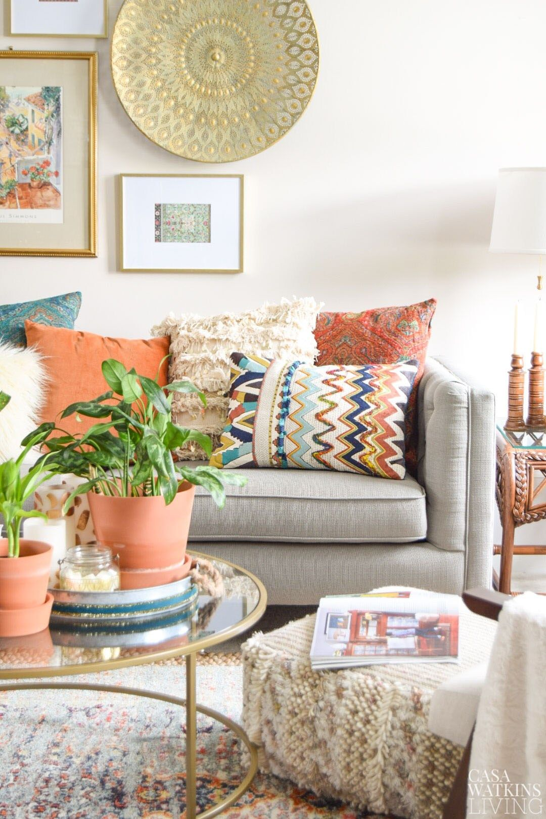 Magnificent 3 Tips For Styling Boho Pillows I N T E R I O R Room Cjindustries Chair Design For Home Cjindustriesco