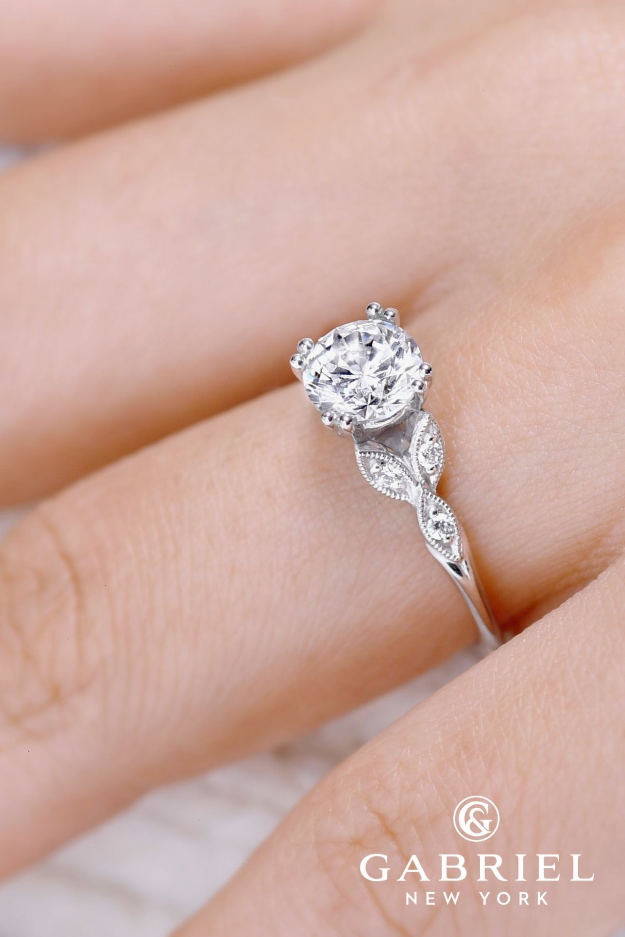 Gabriel And Co Engagement Rings Extraordinaire See more: #weddings ...