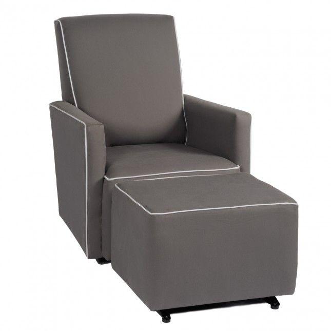 Little Castle Fairfax Adult Glider In Choice Of 4 Custom Fabrics