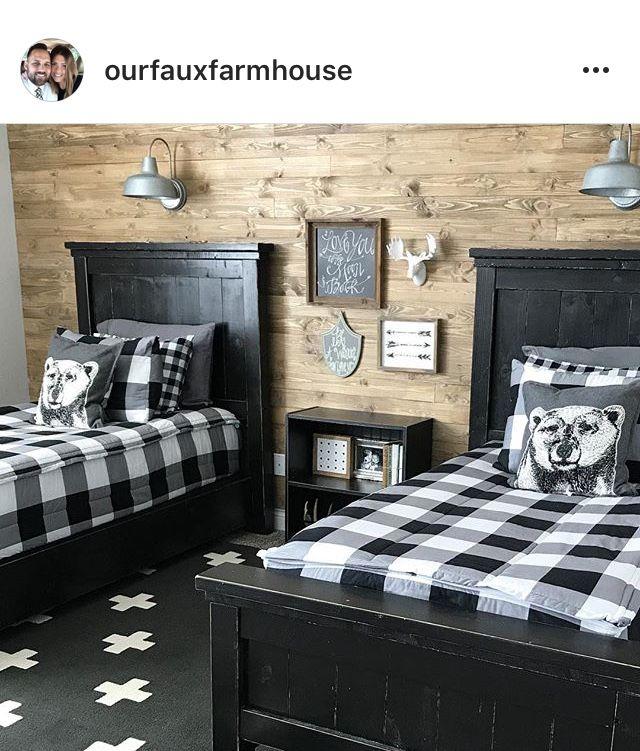 Farmhouse Bedrooms Modern Farmhouse Farmhouse Decor Shared