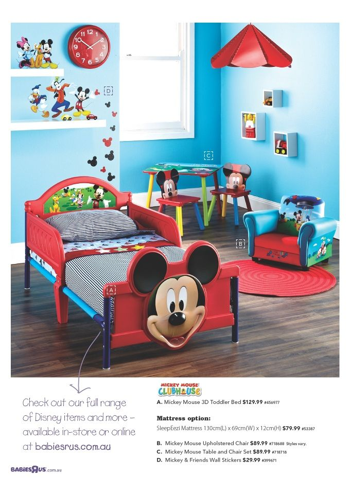 Mickey Mouse Themed Bedroom Mickey Mouse Pinterest