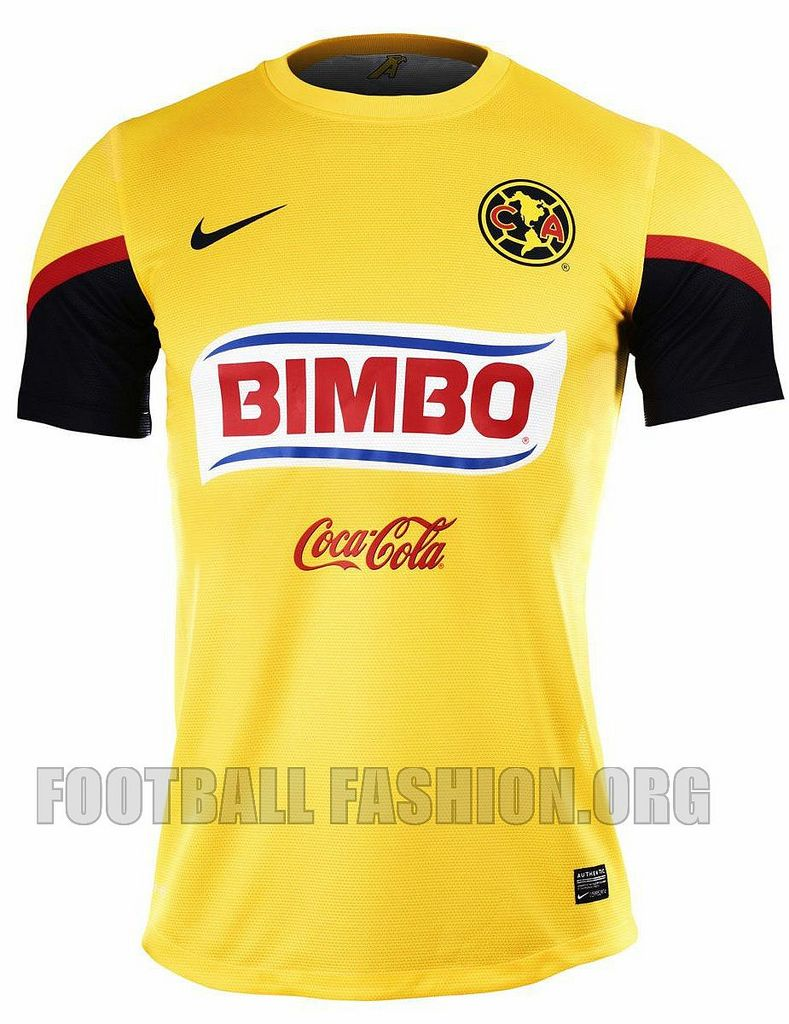 d988bf8811f Club América Nike 2012/13 Home Jersey | Soccer Jerseys | Club ...