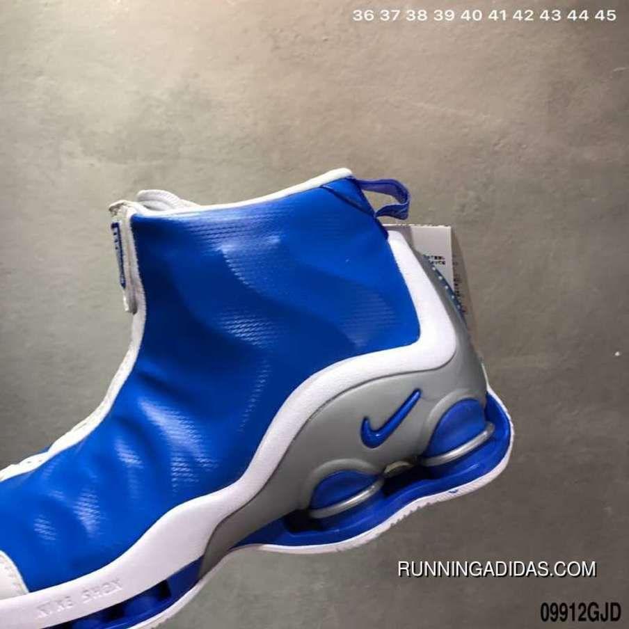 Nike Shox VC 1 OG 1 302277-061 Blue White Sliver Best  78d29554e